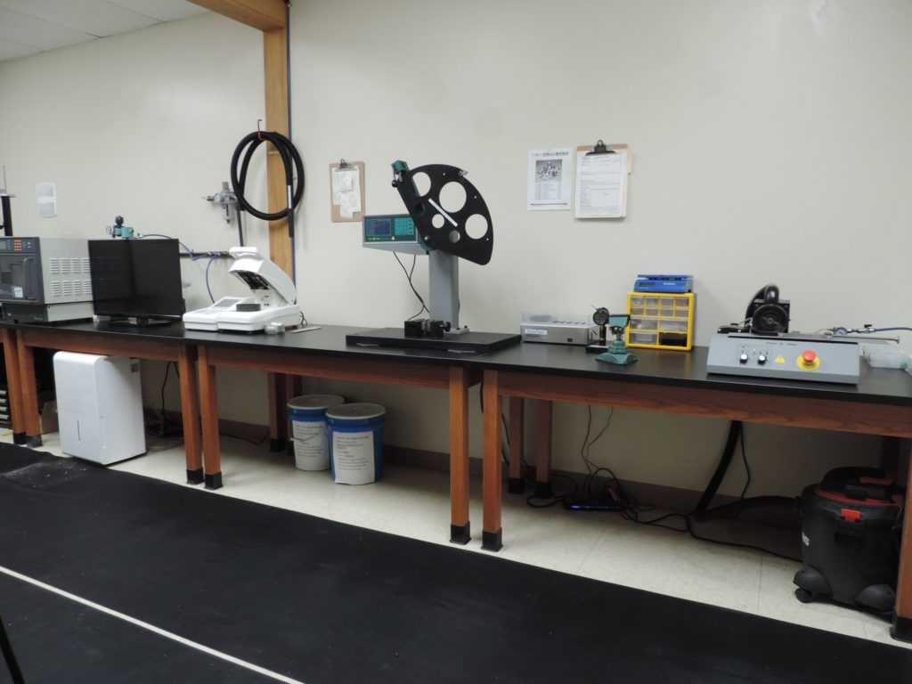 CT Polymers Lab Equipment